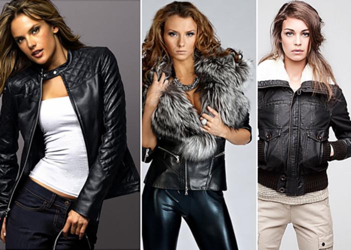 кожаная верхняя одежда - модно и современно