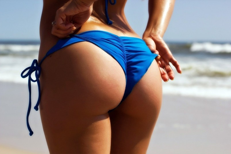 Фото красивых поп на пляже фото 89-585