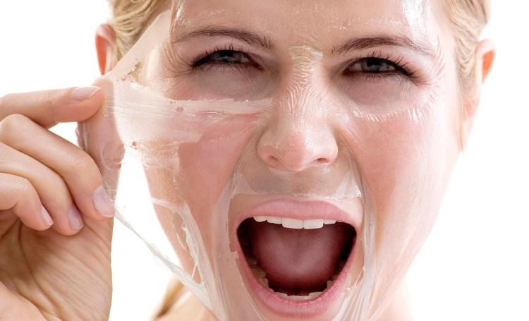 Очищающая маска из желатина от черных точек для лица в домашних условиях
