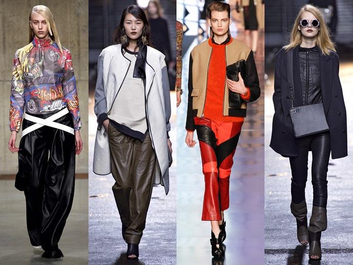 Модная одежда из кожи: как и с чем носить