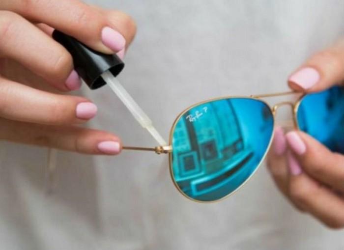 25 способов использовать лак для ногтей