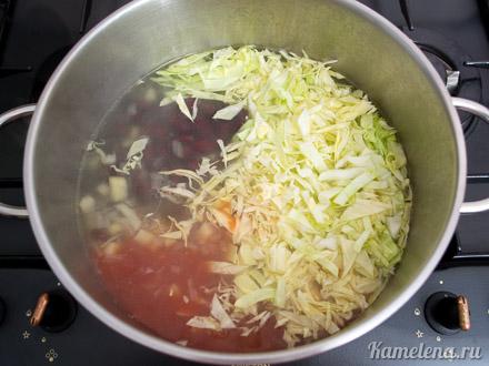 Немецкий колбасный суп — 3 шаг