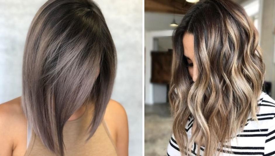 Черные волосы и оттенки блондинки: 12 шикарный идей