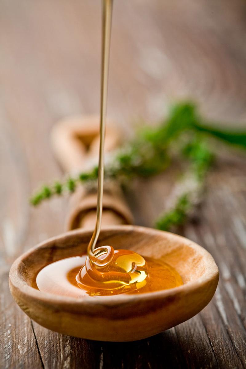 творог с медом