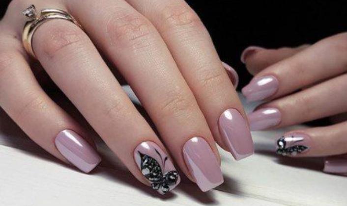Дизайн ногтей в нежных тонах: 24 варианта маникюра 2019