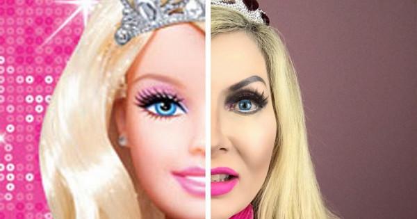 Каквыглядит самая старая «живая Барби»