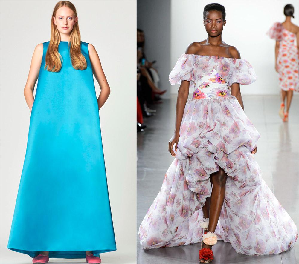 Объемные платья 2019