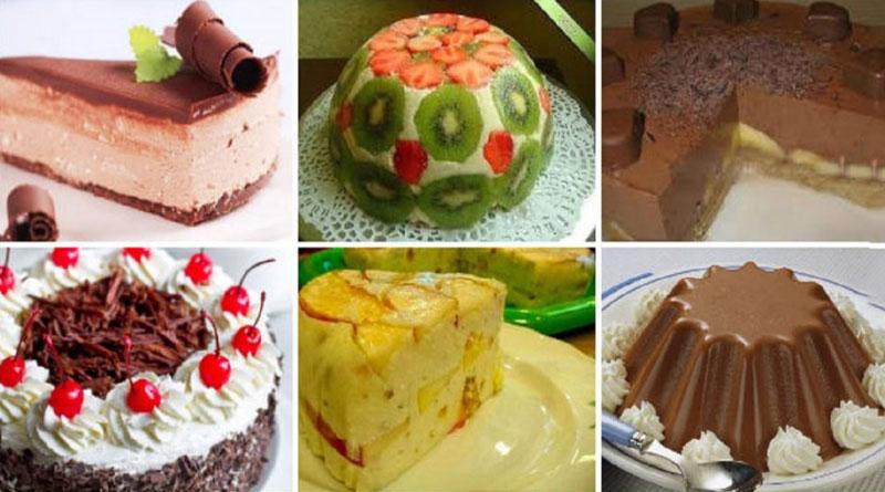 Подборка десертов без выпечки на скорую руку