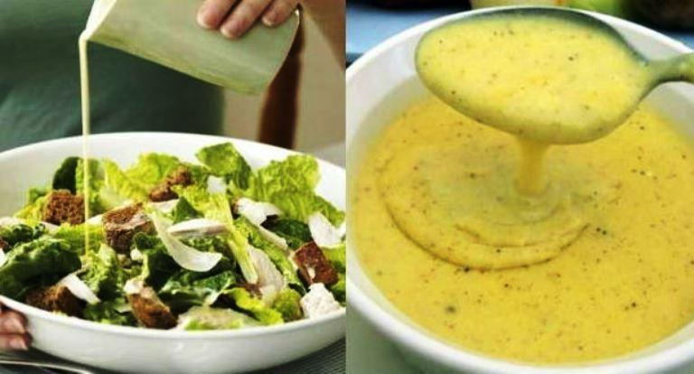 Пять вкусных соусов к салату