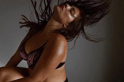Тучная модель снялась вбелье ради тучных женщин