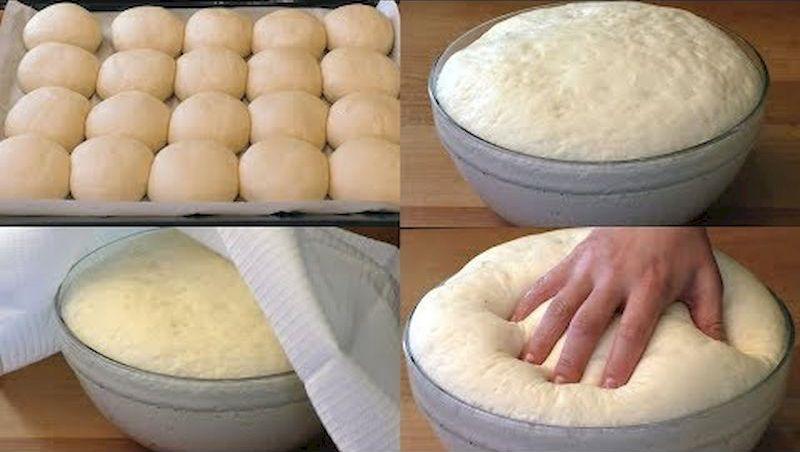 Быстрое дрожжевое тесто на воде без яиц: простота, удобство и вкус в одном рецепте