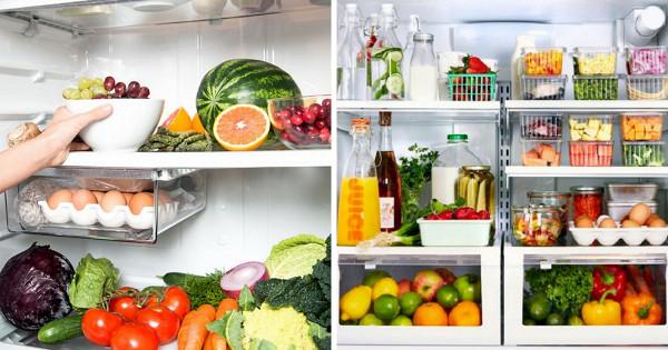 Какправильно хранить продукты вхолодильнике