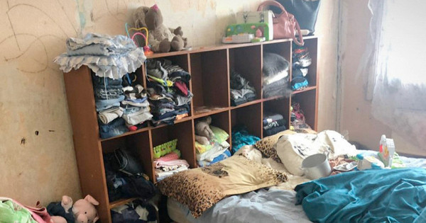 Россиянка родила детей дома икормила спомойки