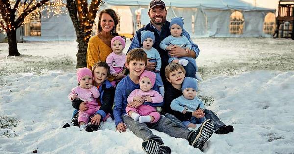 Супруги хотели девочку, аполучили сразу шесть детей