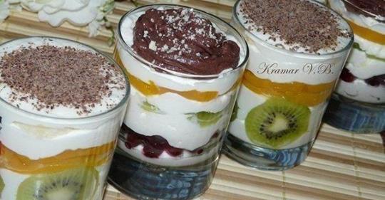 Творожный десерт – просто пальчики оближешь! Домашние его обожают!
