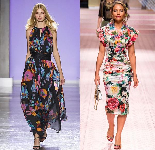 На пике летних трендов: 30 ярких стильных цветочных образов 2019