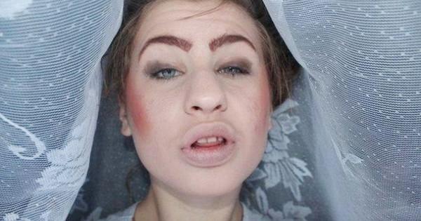 Ужасы нашего макияжа