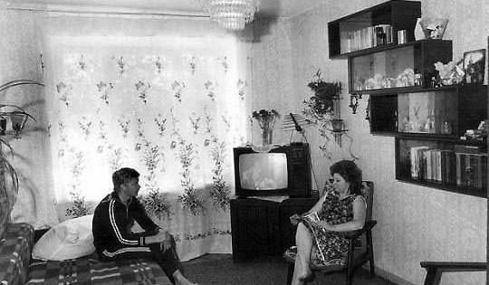 Чтовсоветских квартирах было нетакстуалетом