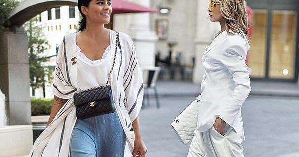 Широкие брюки: 5советов, какневыглядеть внихтолстой