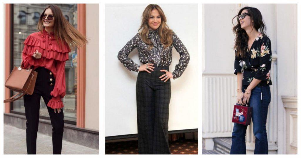 Несколько эффектных блузок стильного гардероба 2020: 40 красивых вариантов